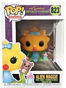 The Simpsons POP Vinyl Vinyl Maggie Alien Pop