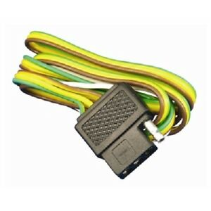 Tough Guy 7-0526 4 Way Flat Plug Wiring Harness 4' Boat ... on 7 wire towing harness, 7 wire trailer lights, 7 wire connector wiring diagram, 7 wire trailer plug wiring, 7 wire trailer hitch, 7 wire cable, 7 wire ignition switch,