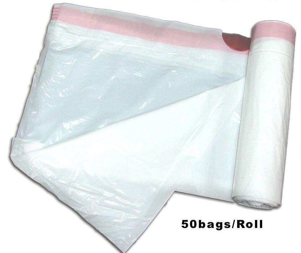 Drawstring Trash Bags for Kitchen Around 13 Gallon Capacity LOT 600 ct