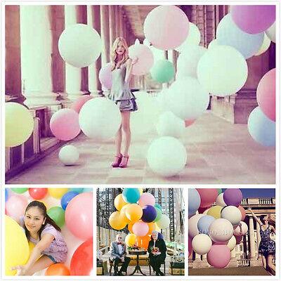 36inch Thicken Latex big giant balloons Birthday Wedding Party Decor photo prop