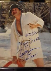 Randy Quaid Christmas Vacation.Details About Christmas Vacation Randy Quaid 8x10 Signed Photo 3 Inscriptions Full Name Jsa