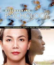Discovering Psychology by Sandra E. Hockenbury, Don H. Hockenbury and Susan A. Nolan (2016, Paperback)