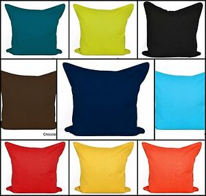 Plain-Dyed-Cushion-Covers-Size-20-034-x-20-034-BEST-QUALITY-100-Cotton