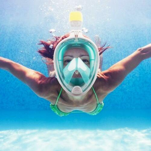 2019 Full Face Diving Mask for Snorkeling Black Under Water Swim Scuba Watching