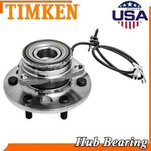 Front Wheel Bearing and Hub Assembly fits 2015 Chevrolet Tahoe Model Specifics: 4WD