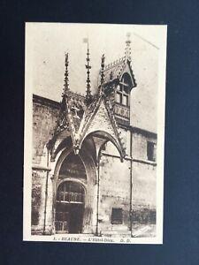 Carte-Postale-Ancienne-BEAUNE-L-039-Hotel-Dieu