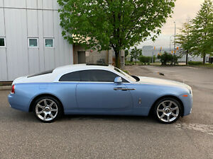 2014 ROLLS ROYCE WRAITH COUPE TWO TONE NAVIGATION CAMERA