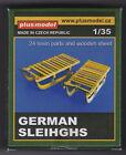 PLUSMODEL PLUS MODEL 213 - GERMAN SLEIHGHS - 1/35 RESIN