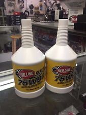 Red Line Synthetic Differential Gear Oil GL-5 75W90 2 QUART 57904