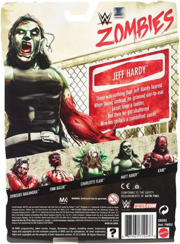 Zombies Series 3 Brand New WWE Figures Mattel Boxed