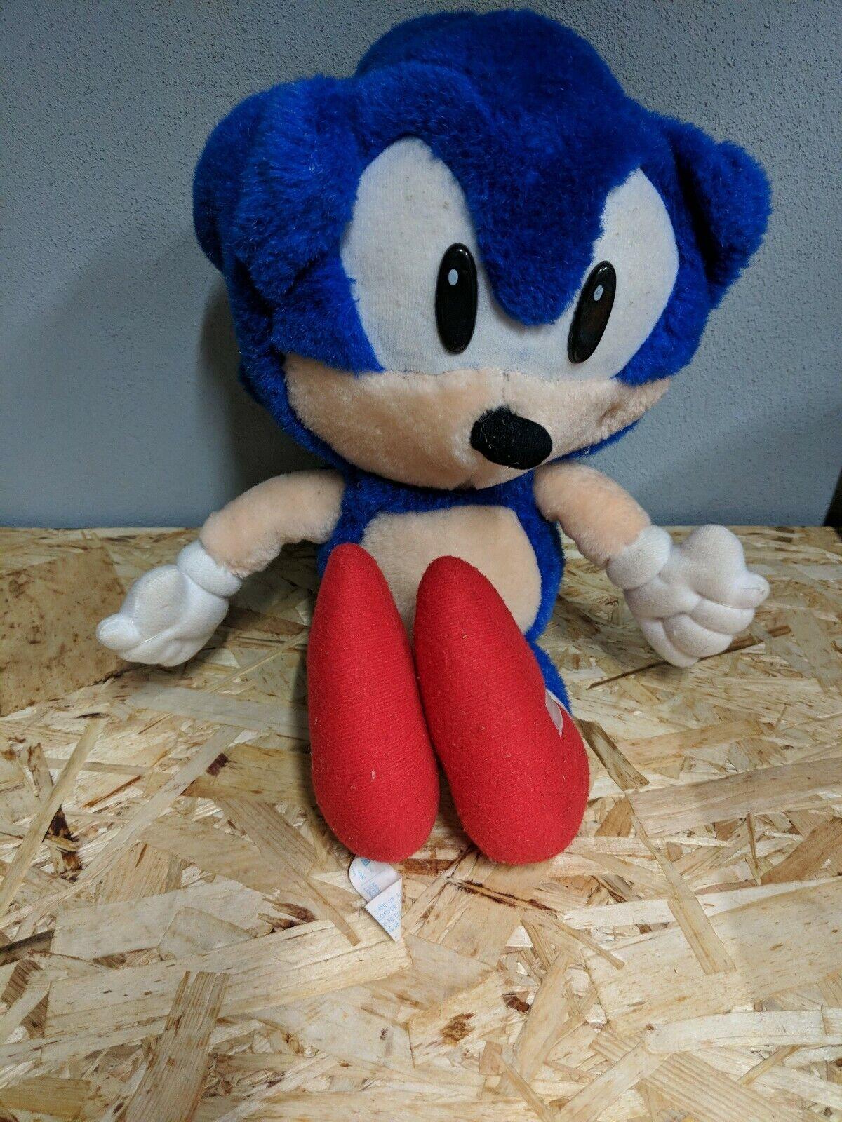 Sonic The Hedgehog weich Spielzeug Plush Teddy SEGA Jahr 1992