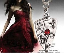 1Pc Fashion Antique Silver Vampire Diaries Chain Pendant Necklace