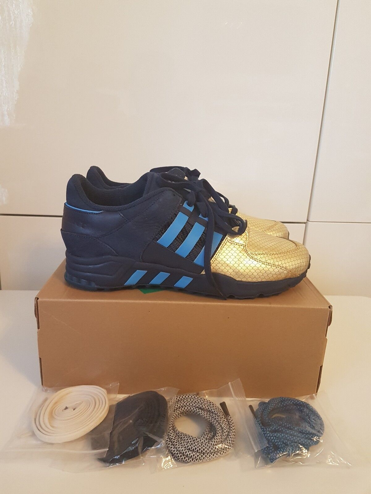 ADIDAS CONSORTIUM EQT SUPPORT 93 KITH X RONNIE FIEG NYC UK10   US 10.5