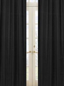 Image Is Loading Sweet Jojo Designs Black Minky Dot Kid Window