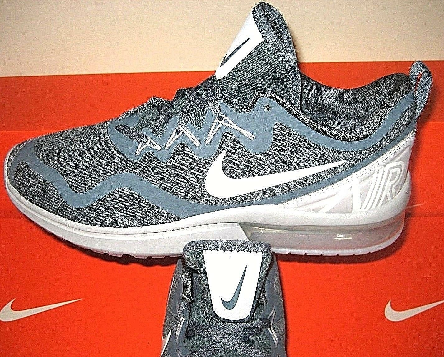 Nike Mens Air Max Fury Running Shoes Blue Fox Pure Platinum Size 12 AA5739 403