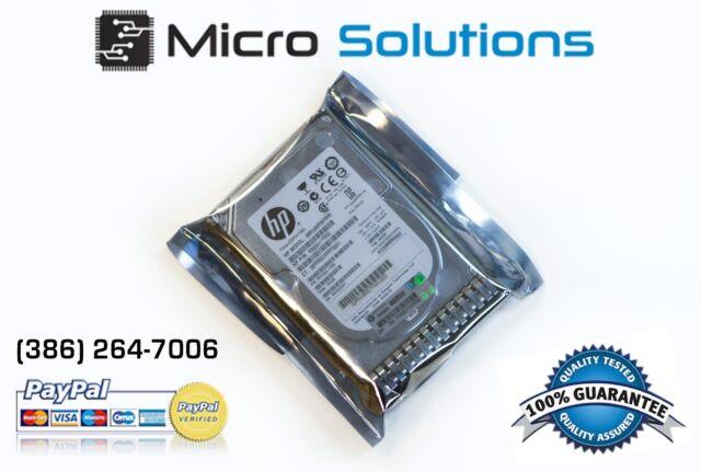 "HP G8/G9 500GB 6G 7.2K 2.5"" SAS 652745-B21 653953-001 605832-001 HARD DRIVE"