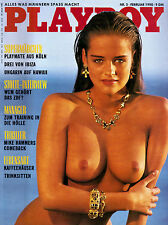 Playboy 02/1990    VERINA WIMMER & MONIQUE NOEL   Februar/1990