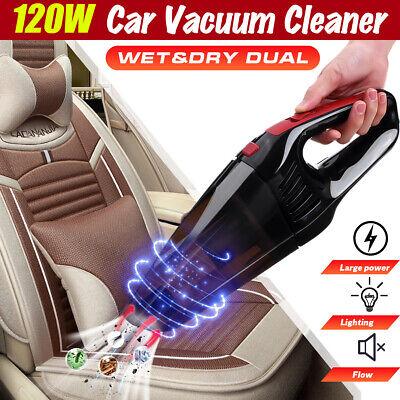 120W Car Vacuum Cleaner Vac Wet /& Dry Car Van Vacuum Cleaner 5000pa 12V