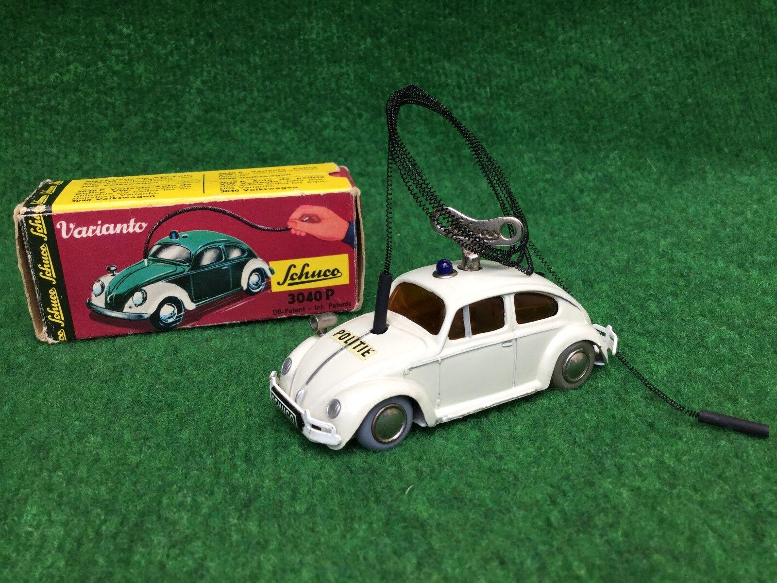 Schuco VARIANTO 3040 P VW Beetle Beetle Police OVP