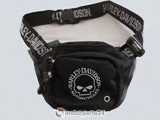 Harley Davidson Teschio Marsupio Borsa Con Cintura Cintura Borsa 99426-1
