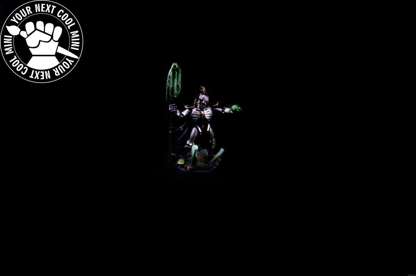 Warhammer  40K, Necron Lord with Resurrection Orb. 1 PRO PAINT miniature  vendite online