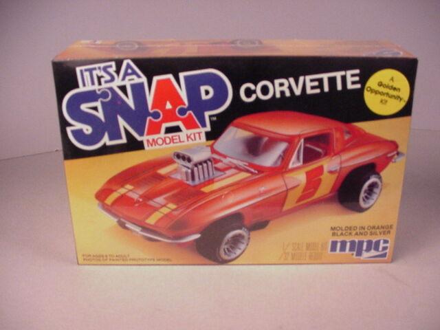 MPC 1/20 1982 Corvette Twin Turbo Wide Body - Scale Auto Magazine ...