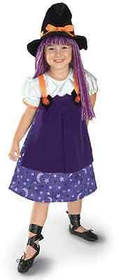 Twilight Witch Yarn Wig Wicked Cute Fancy Dress Halloween Toddler Child Costume