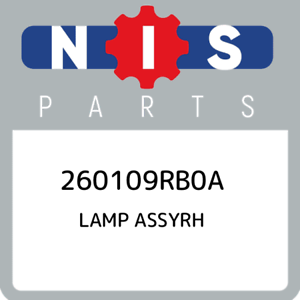 260109RB0A-Nissan-Lamp-assyrh-260109RB0A-New-Genuine-OEM-Part
