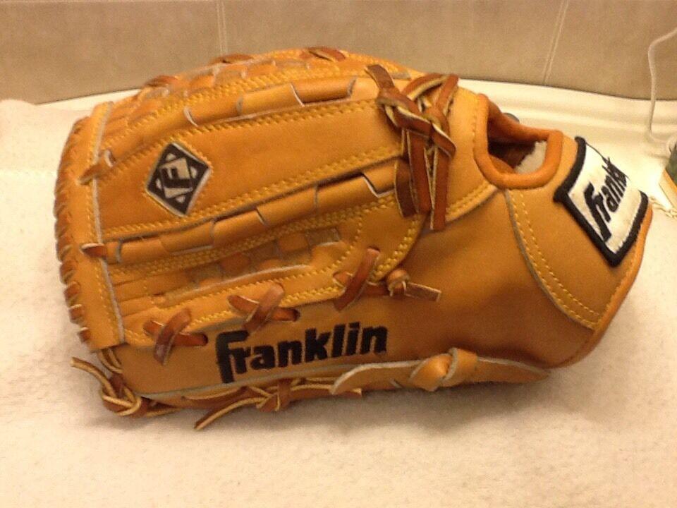 Muy Raro Franklin 9516L 11.25  Pro béisbol Softbol Guantes zurdo-lanzamiento
