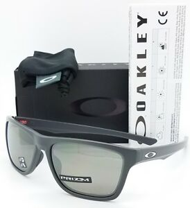 NEW Oakley Holston sunglasses Dark Grey Prizm Black Polarized 9334 ... f194a9743d