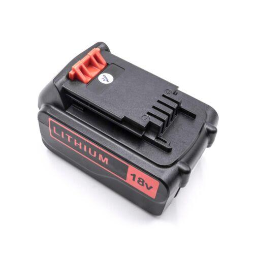 MULTIEVO EPL ASL Akku Batterie 3000mAh für Black /& Decker EGBHP ASD