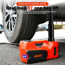 5 Ton 12v Electric Hydraulic Car Floor Jack Kit Lift Impact Wrench For Suv Mpv