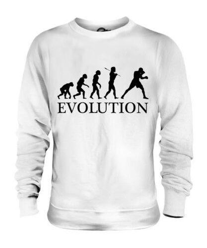 Boxeo Evolution Of Man Unisex Suéter Regalo Hombre Mujer Bóxer Guantes