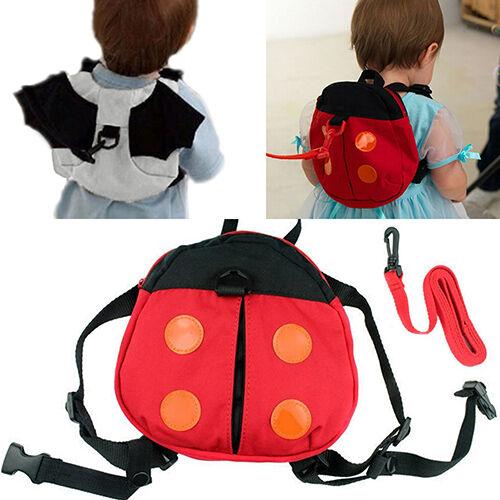 JN/_ Stunning Baby Kid Toddler Keeper Walking Safety Harness Backpack Leash Str