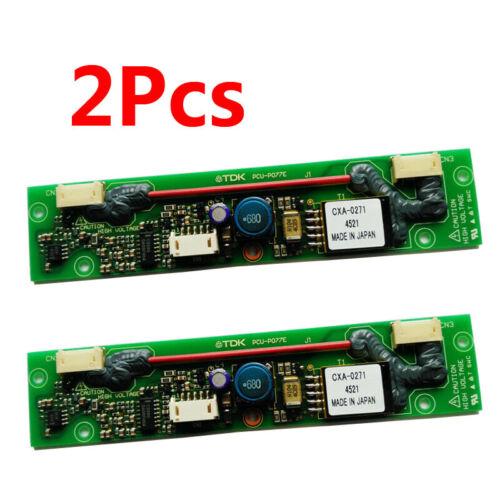 2pcs Professional TDK PCU-P077E CXA-0271 LCD Inverter
