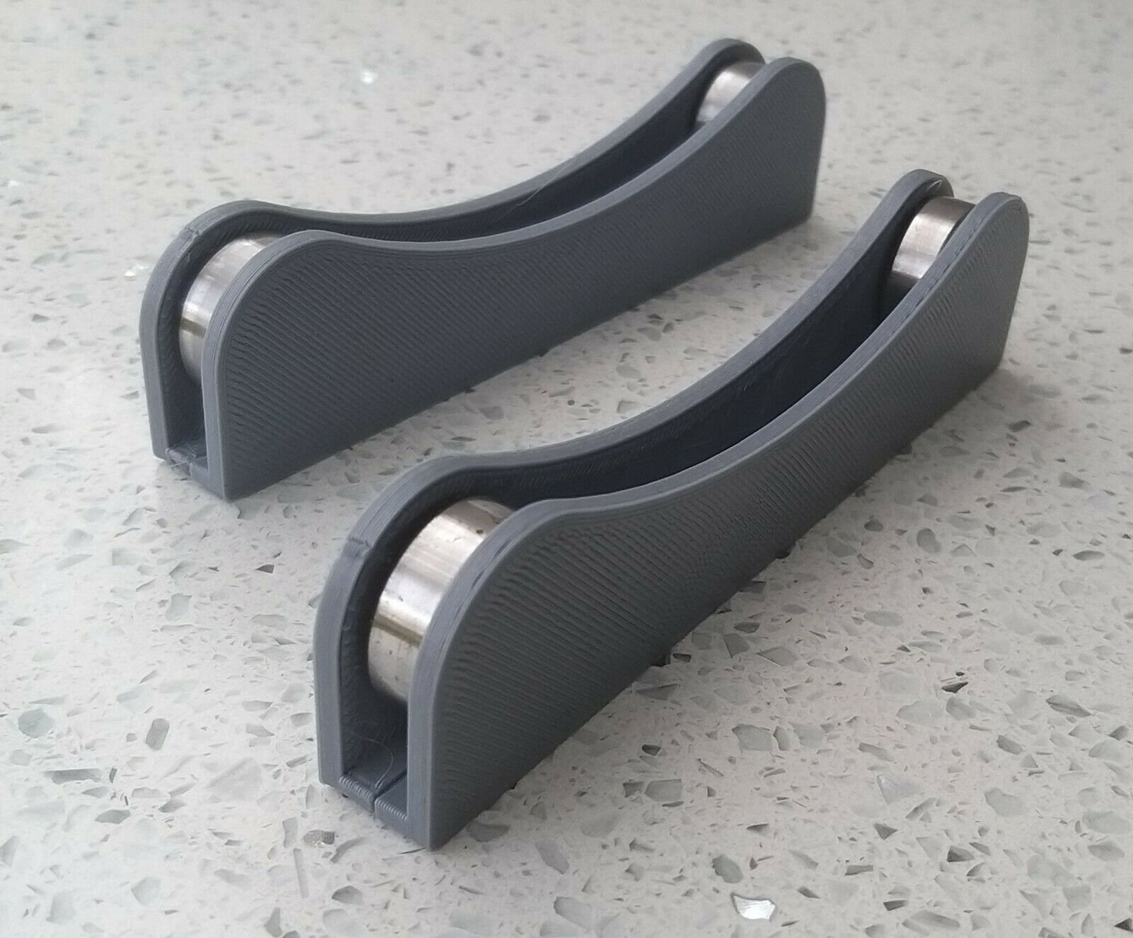 3D Printer Filament Spool Holder /Rollers un-winder 195mm Spool Diameter