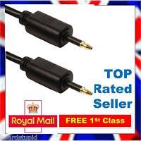 1m Mini TOSlink to Mini TOSlink Audio Cable Lead Optical SPDIF Digital 3.5mm