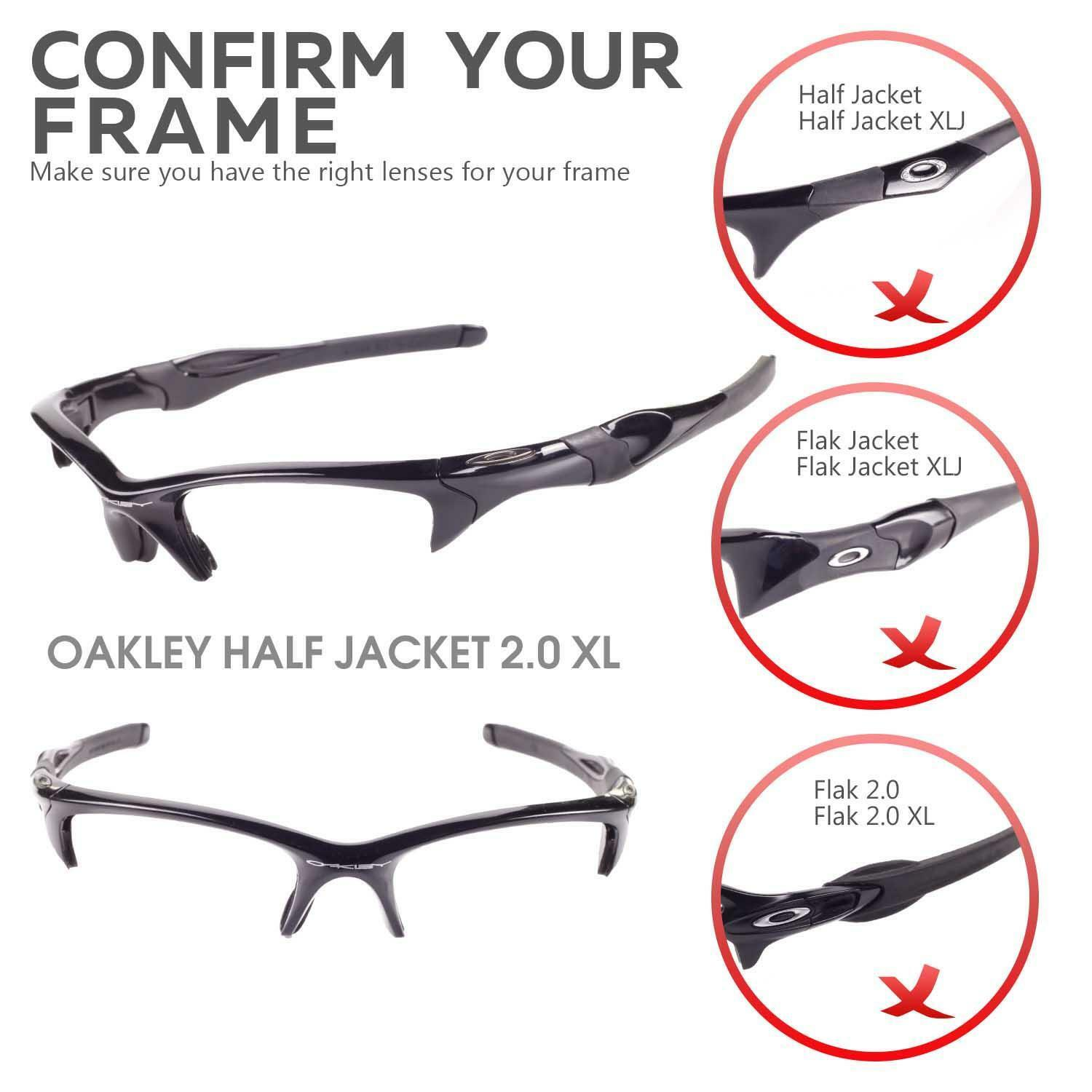 Half Jacket 2 0 >> Wl Polarized Emerald Lenses And Rubber Kit For Oakley Half Jacket 2 0 Xl