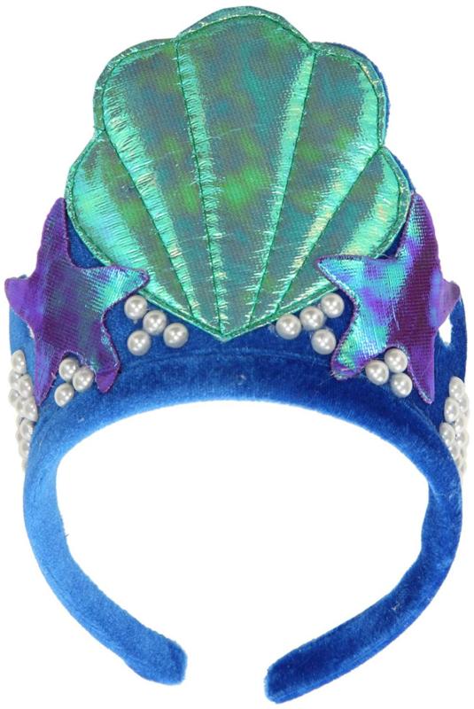 Mermaid Shell Costume Tiara Crown Headband For Girls And Women