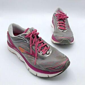18b7d3668600a Brooks Transcend 3 Women Gray Pink Running Shoe Size 9.5M EUR 41 Pre ...