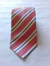 BOGGI MILANO MADE in ITALY man tie cravatta uomo 100% SILK
