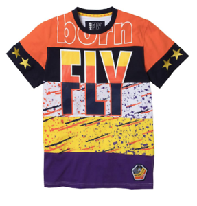 """Born Fly Multi-Colored /""""Field/"""" T-Shirt"""
