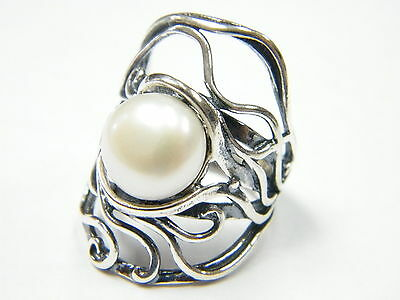 Jewelry & Watches Obedient R01691sp Original Shablool Didae Sterling Silver Ring White Pearl Ladies Fine Rings