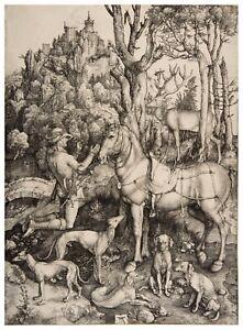 Albrecht Durer St. Eustace paper or canvas reproduction