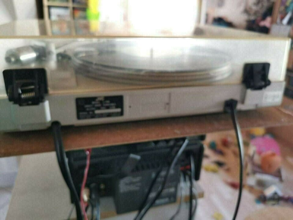 Pladespiller, JVC, l-f66 fully automatic direct drive