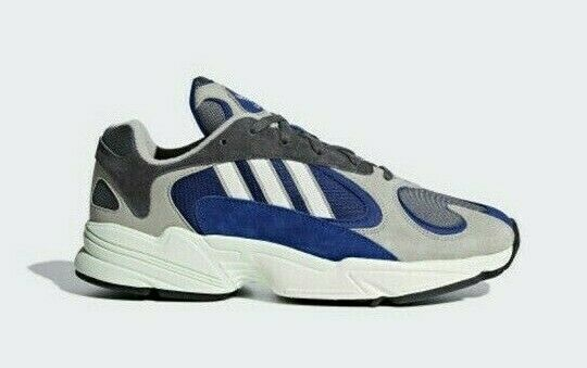 Adidas Yung-1 AQ0902 - Sesame  Grey  bluee, Men's Sports shoes Athletic Sneakers