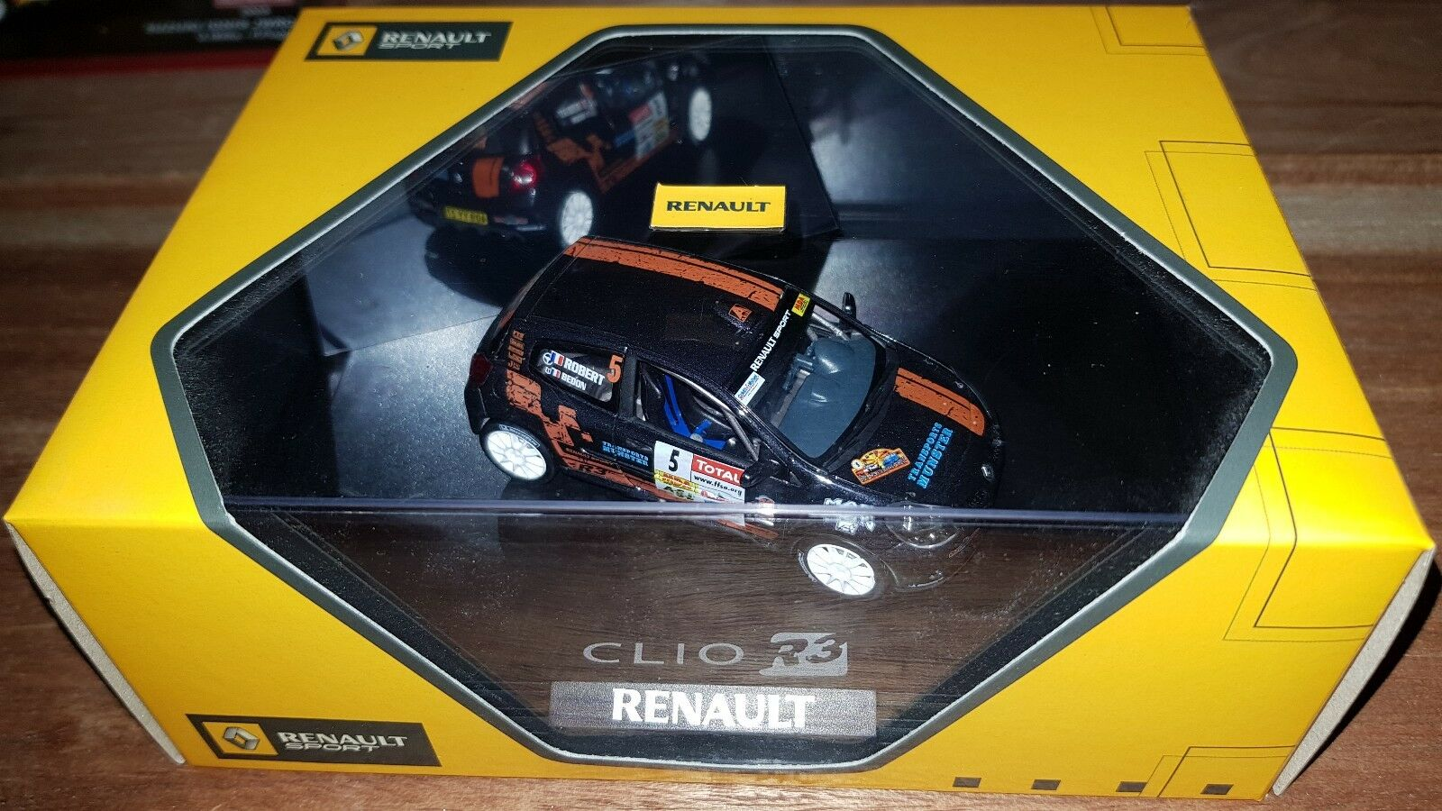 Norev  1 43 Renault Clio R3 7711423242  wholesape pas cher