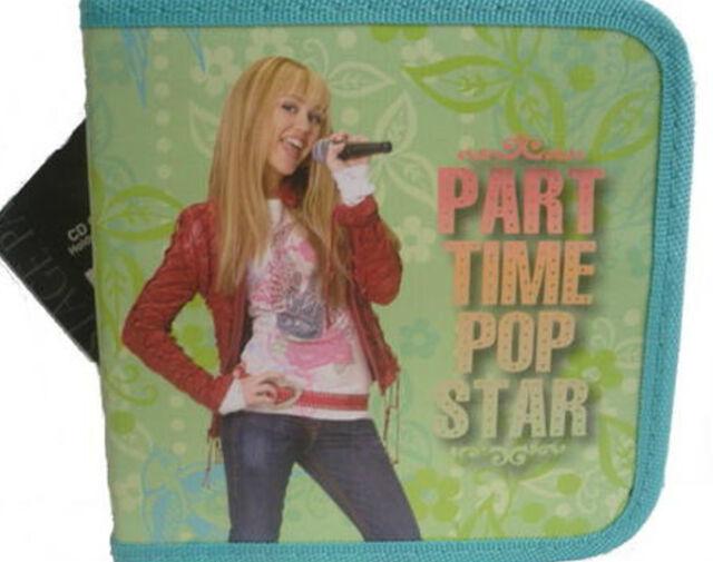 NWT Disney Hannah Montanna CD DVD Pop Star Carry Case