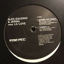 ALEX GAUDINO & JERMA • Waiting For Tonight • Vinile 12 Mix • RISE 325