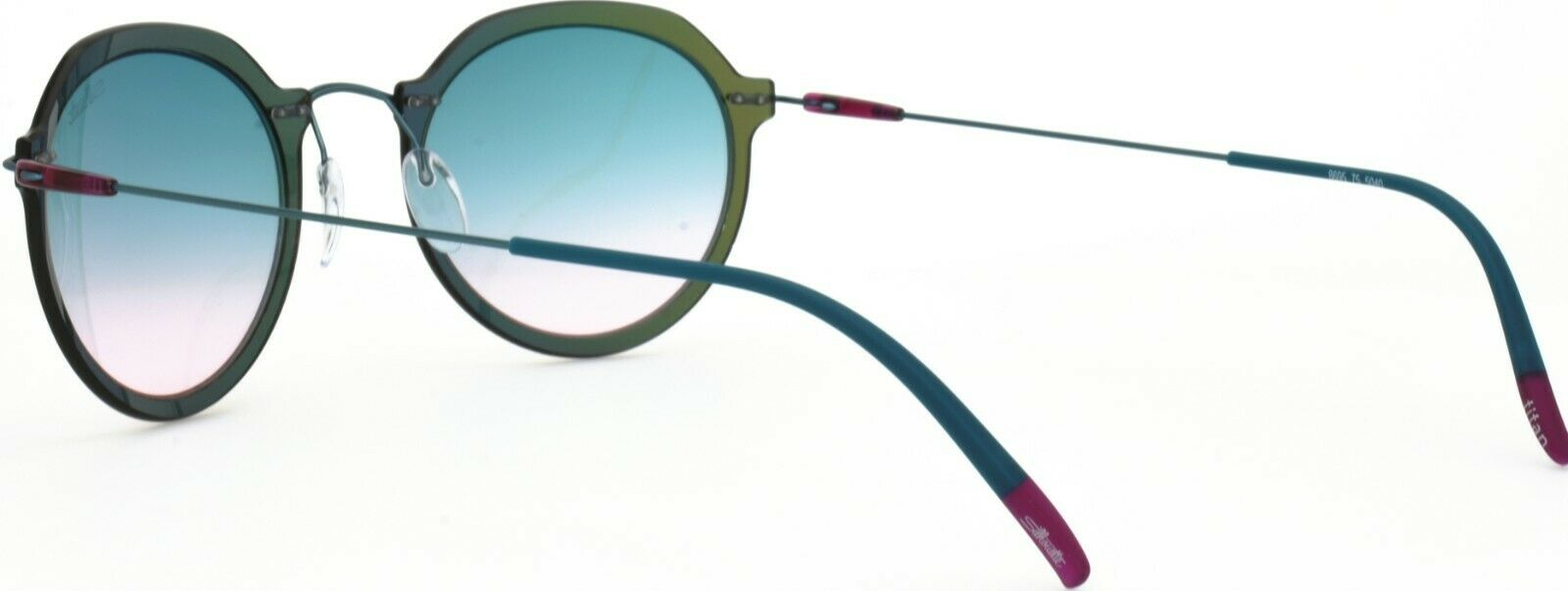 Silhouette Sunglasses Rx-able Eyeglasses Frame 8695 75 6560 Round  49-24-145